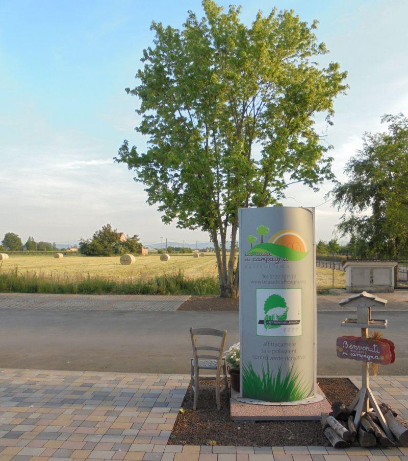 La produzione dei balloni di fieno (erba di qualità essiccata e pressata in rotoballe) è un lavoro tipico delle nostre zone: saranno alimento per i bovini produttori del latte per il Parmigiano Reggiano: Il re dei formaggi !